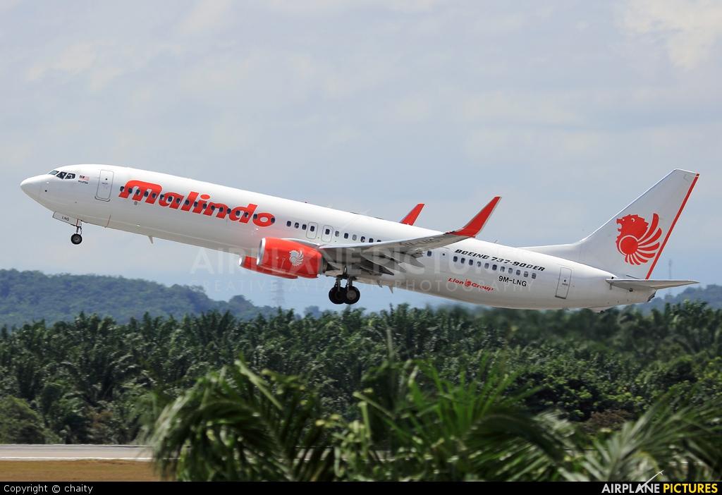 Malindo Air: Malindo Air Boeing 737-900 At Kuala Lumpur Intl