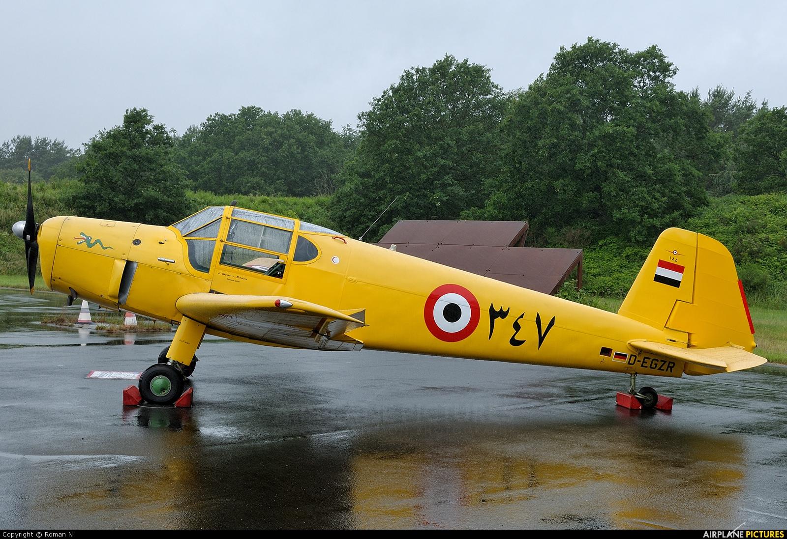 Sportfluggruppe Nordholz/Cuxhaven D-EGZR aircraft at Wittmundhafen