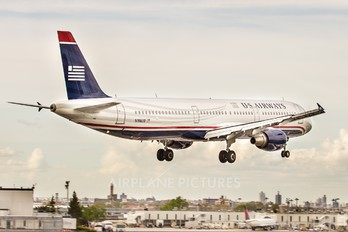 N198UW - US Airways Airbus A321