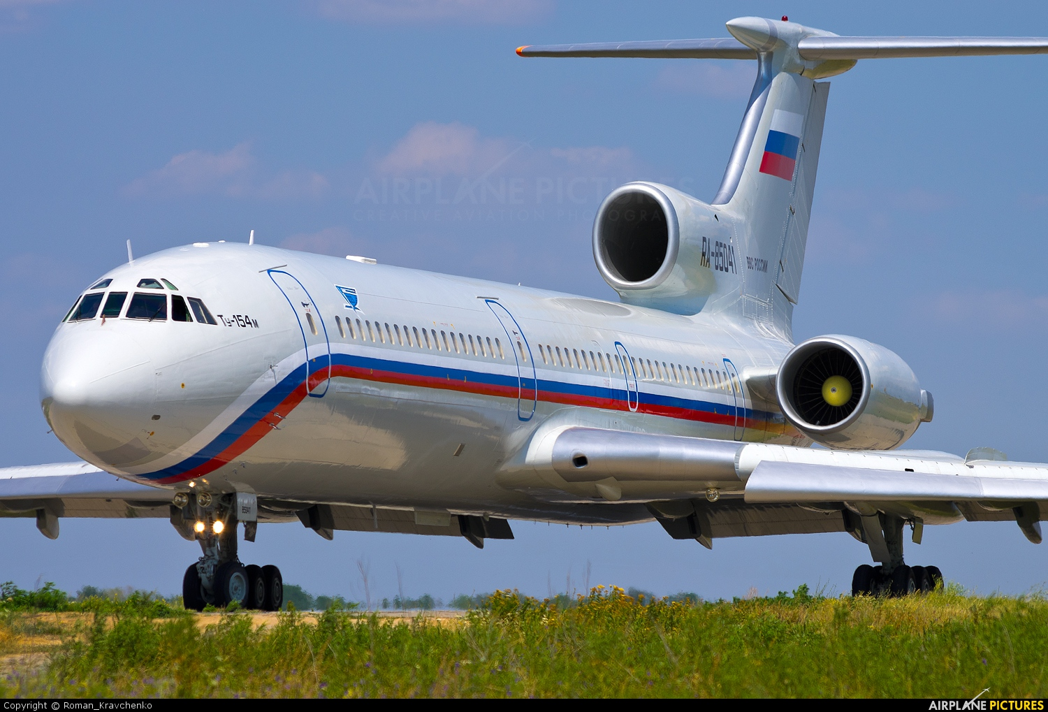 Russia - Air Force RA-85041 aircraft at Undisclosed Location