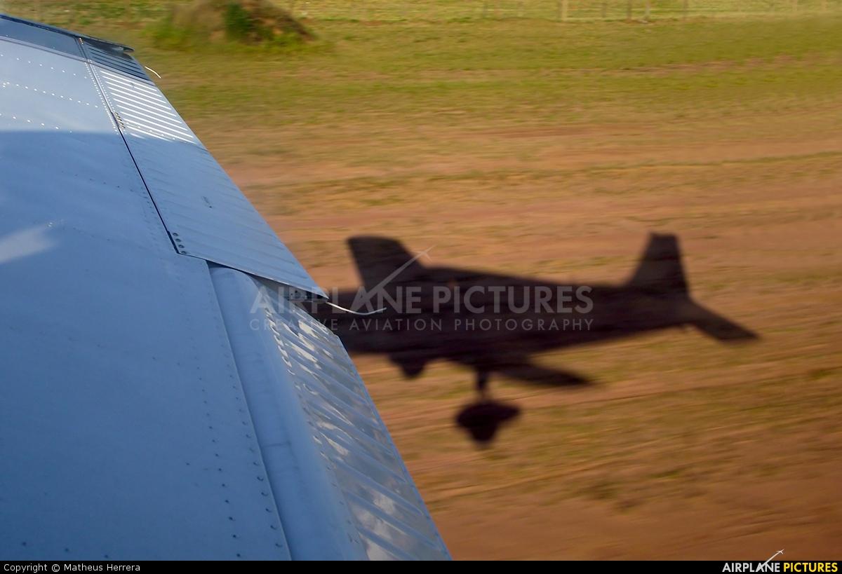 Aeroclube de São Paulo PT-RXC aircraft at Rio Claro, SP