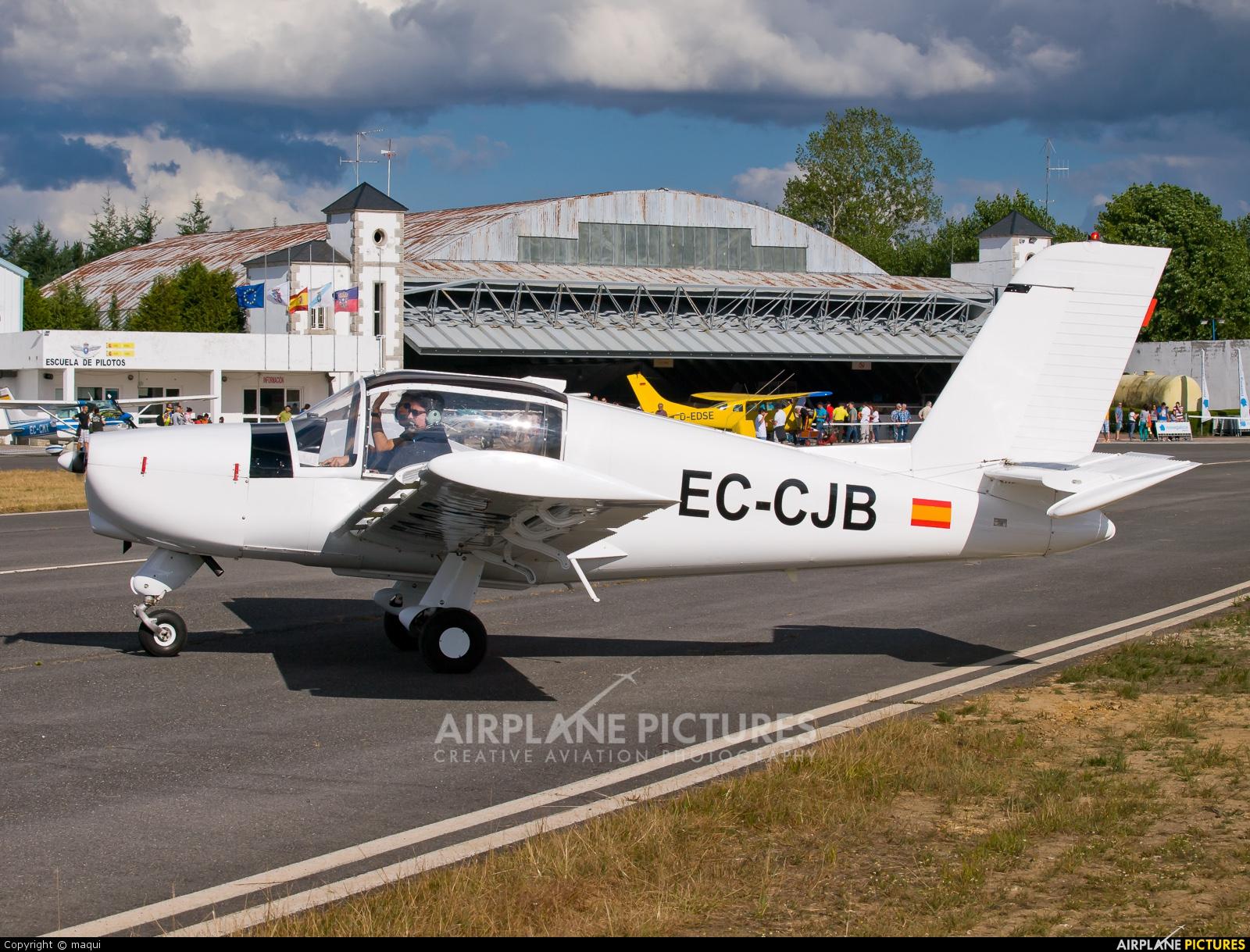 Real Aero Club de La Coruña EC-CJB aircraft at Lugo - Rozas