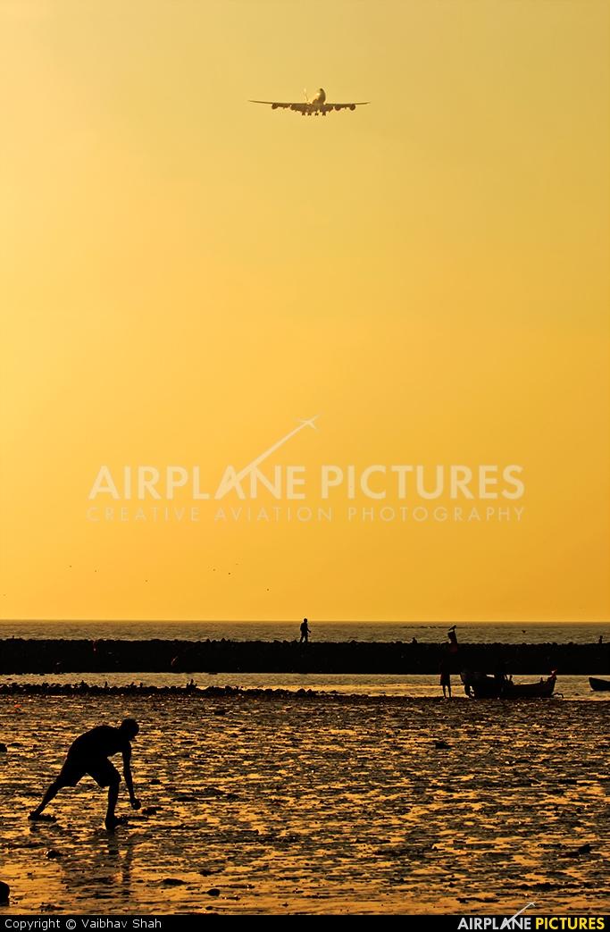 Global Supply Systems G-GSSF aircraft at Mumbai - Chhatrapati Shivaji Intl