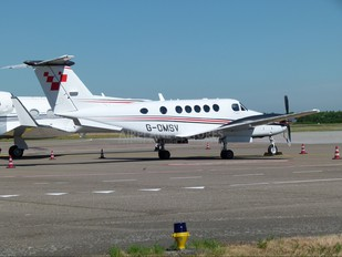 G-OMSV - Private Beechcraft 200 King Air