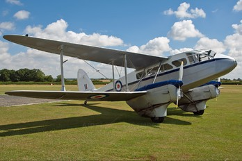 G-AIDL - Air Atlantique de Havilland DH. 89 Dragon Rapide