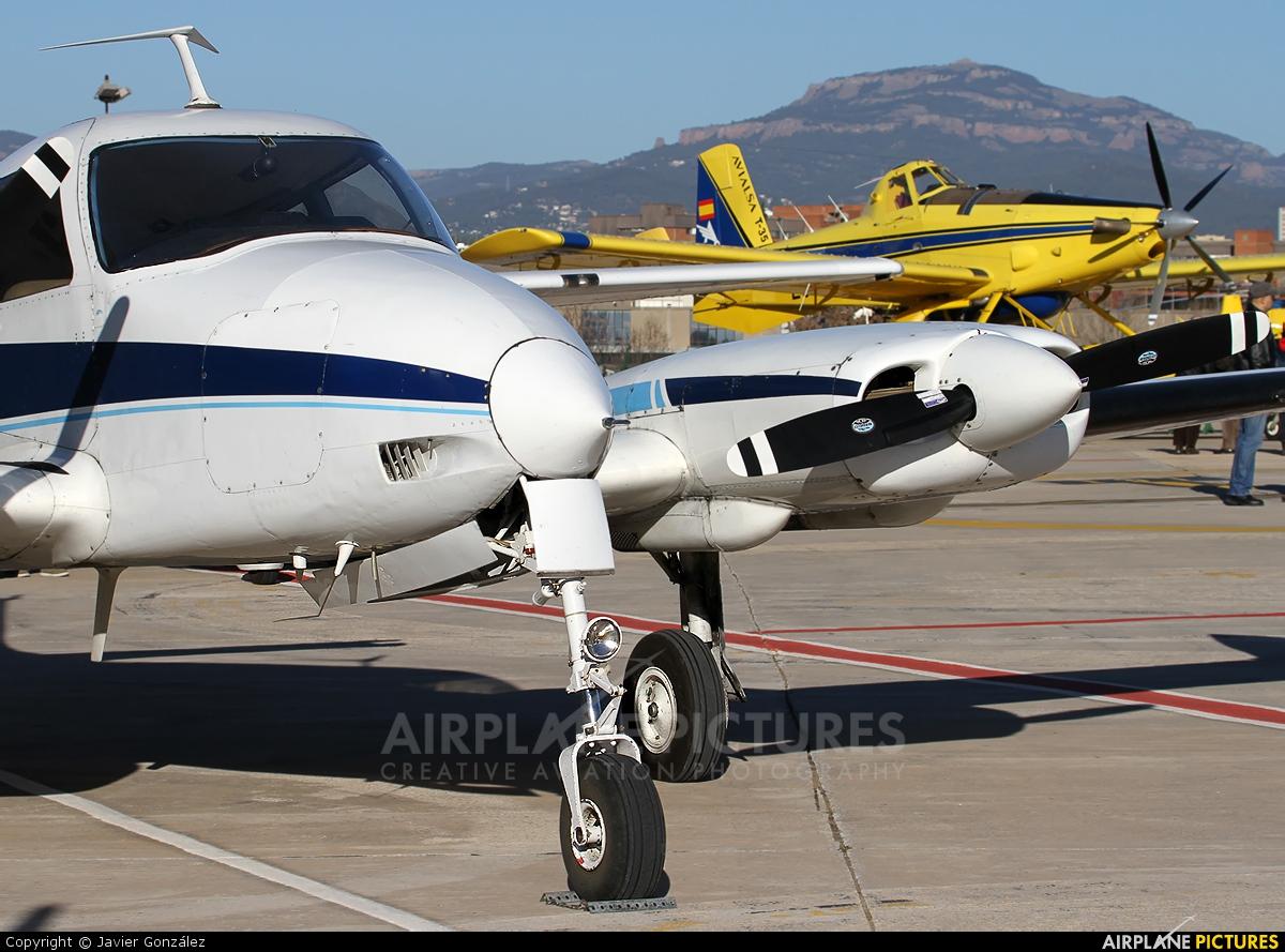Private EC-JKD aircraft at Sabadell