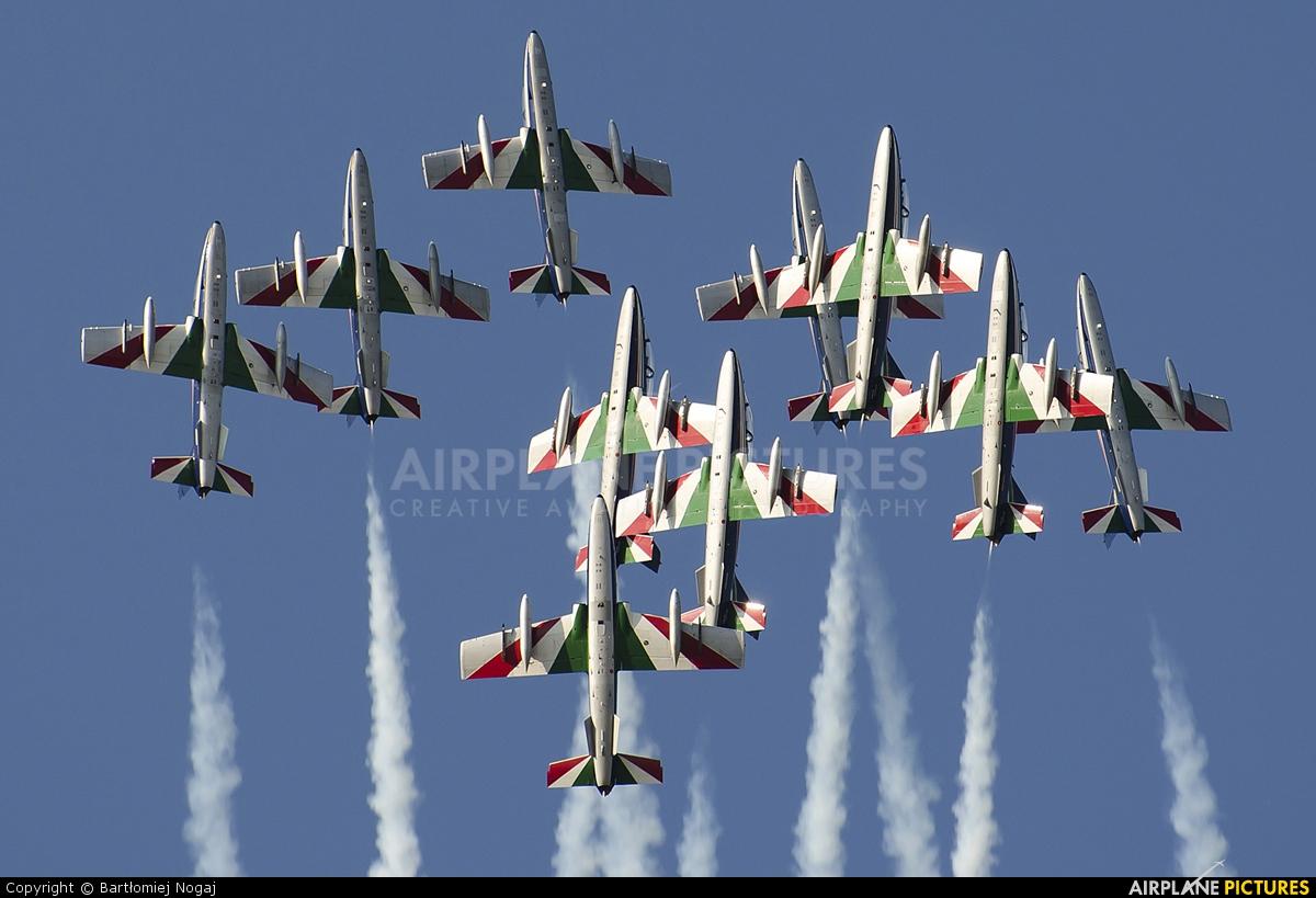 "Italy - Air Force ""Frecce Tricolori"" MM54551 aircraft at Kecskemét"