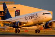 5B-DCK - Cyprus Airways Airbus A320 aircraft