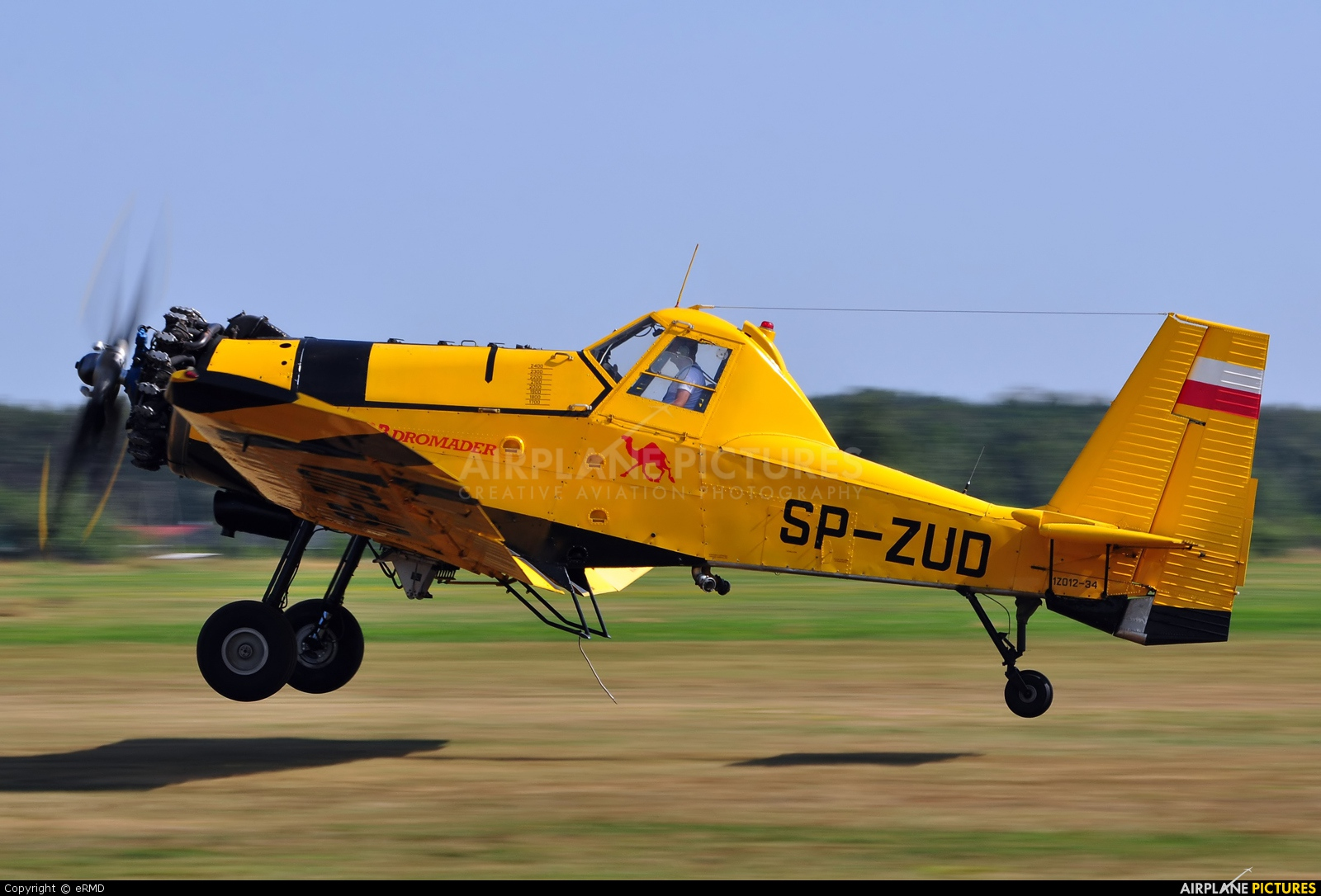 EADS - Agroaviation Services SP-ZUD aircraft at Radom - Piastów