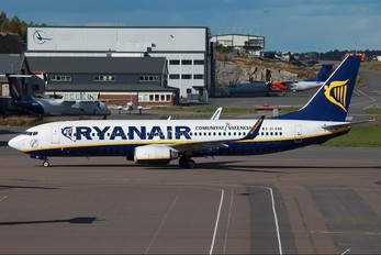EI-EBB - Ryanair Boeing 737-800