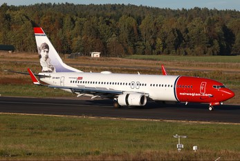 LN-NOY - Norwegian Air Shuttle Boeing 737-800