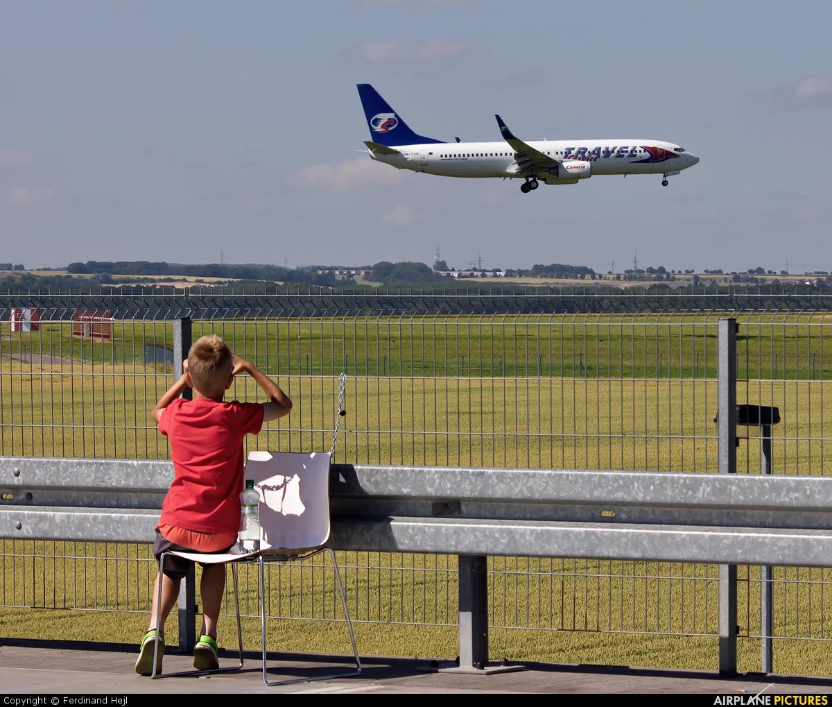 Travel Service OM-TVR aircraft at Prague - Václav Havel
