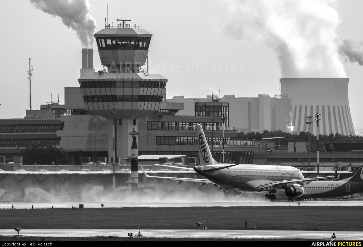Niki OE-IHD aircraft at Berlin - Tegel
