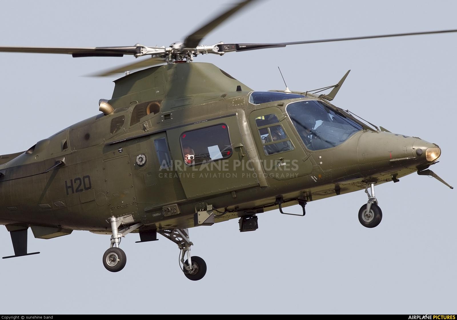 Belgium - Air Force H20 aircraft at Waddington