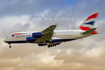 G-XLEA - British Airways Airbus A380