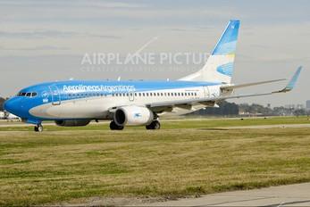 LV-CVX - Aerolineas Argentinas Boeing 737-700