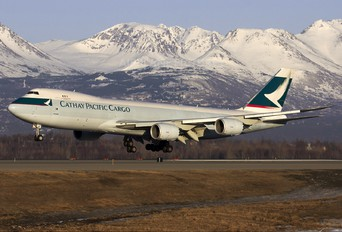 B-LJG - Cathay Pacific Cargo Boeing 747-8F