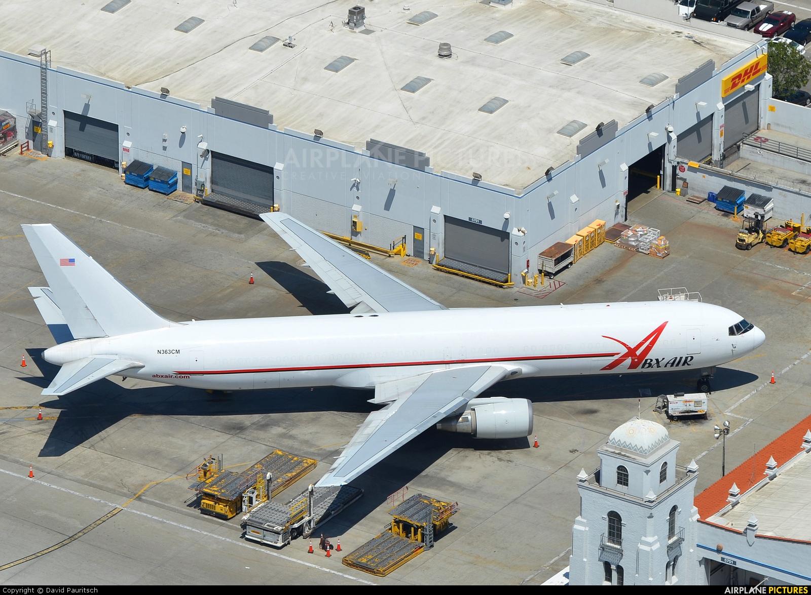 ABX Air N363CM aircraft at Los Angeles Intl
