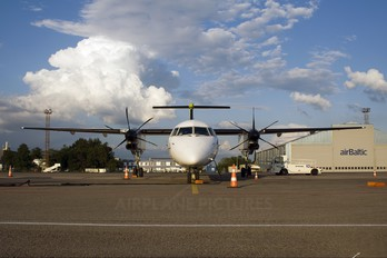 YL-BAJ - Air Baltic de Havilland Canada DHC-8-400Q / Bombardier Q400