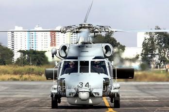 3034 - Brazil - Navy Sikorsky S-70B Seahawk
