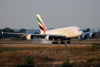 A6-EDA - Emirates Airlines Airbus A380