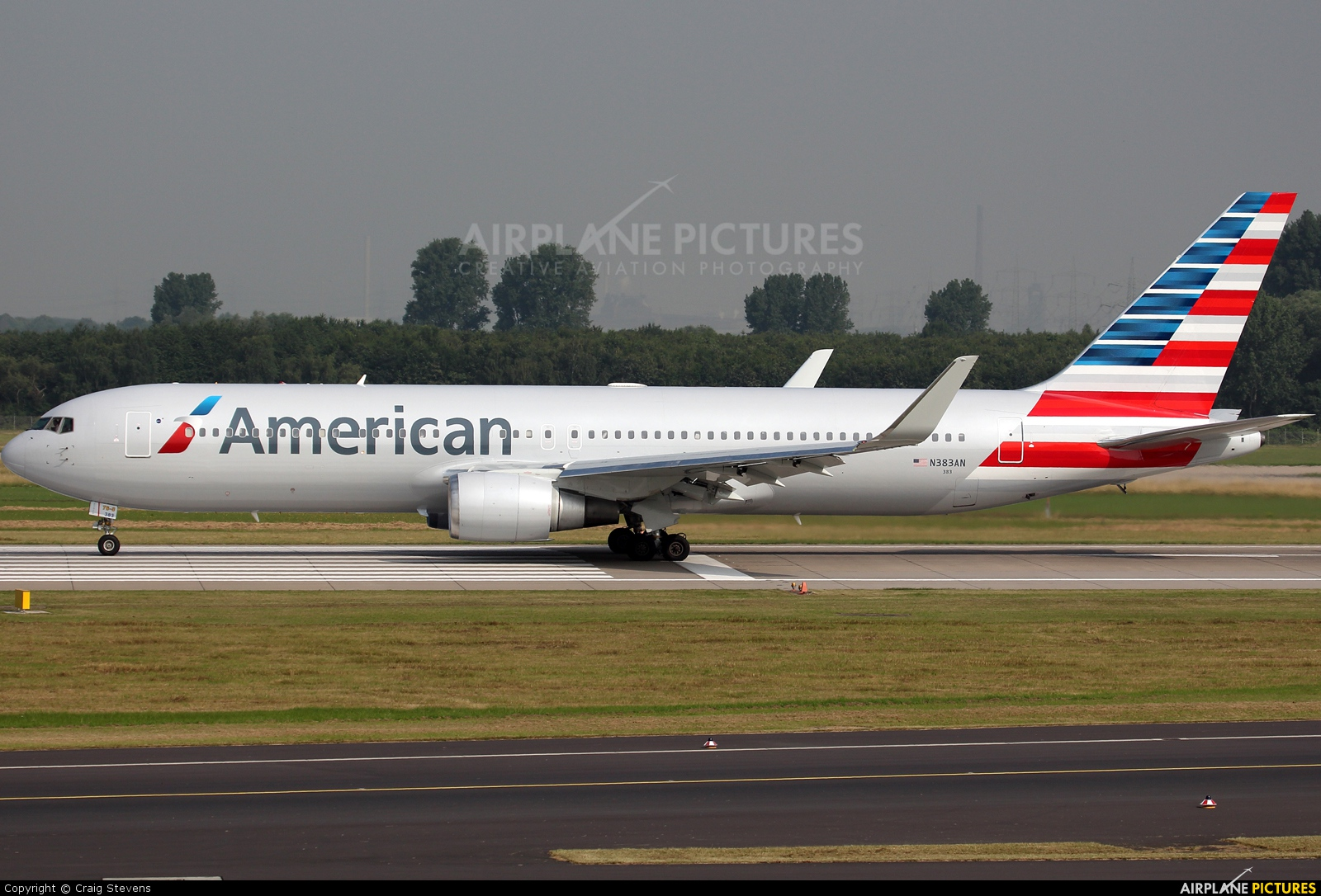 N383AN - American Airlines Boeing 767-300 at Düsseldorf ...
