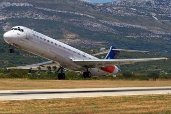 SE-DMB - SAS - Scandinavian Airlines McDonnell Douglas MD-81