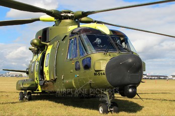 M-514 - Denmark - Air Force Agusta Westland AW101 512 Merlin (Denmark)