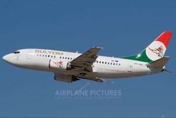 HA-SHA - Solyom - Hungarian Airways Boeing 737-500