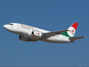 HA-SHA - Solyom - Hungarian Airways Boeing 737-500