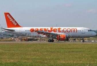 G-EZWB - easyJet Airbus A320