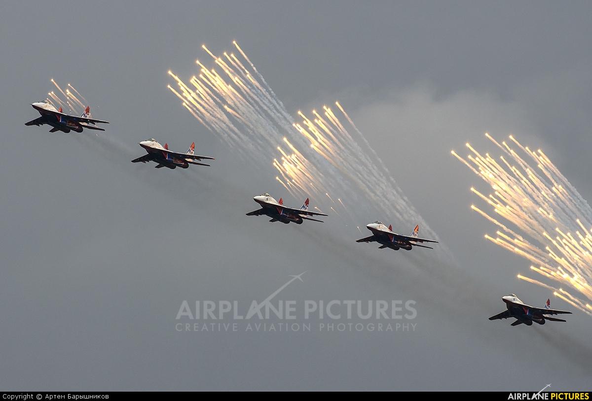 "Russia - Air Force ""Strizhi"" - aircraft at Ekaterinburg - Uktus"