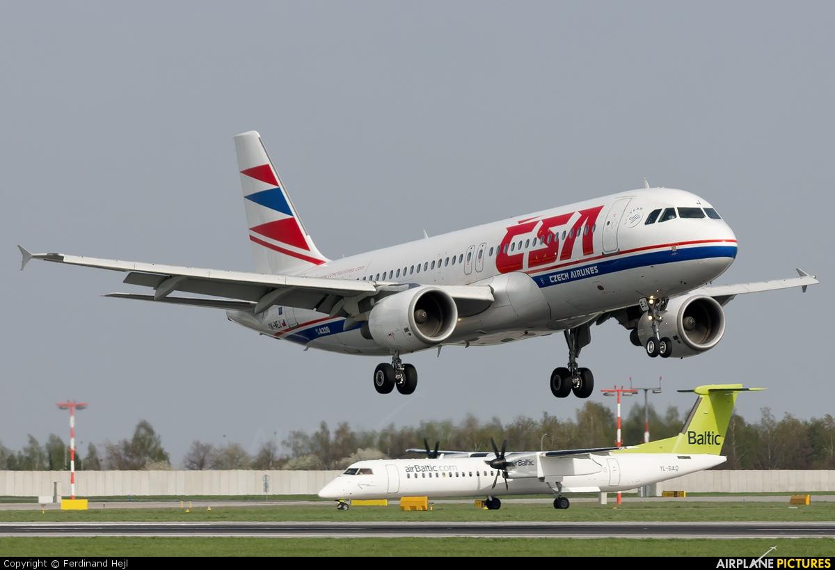 CSA - Czech Airlines OK-MEJ aircraft at Prague - Václav Havel