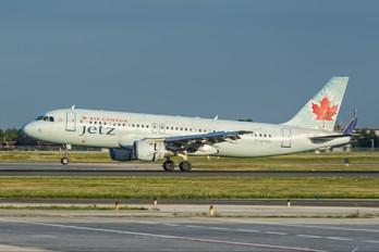 C-GPWG - Air Canada Jetz Airbus A320