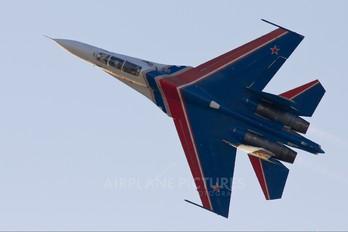 "20 - Russia - Air Force ""Russian Knights"" Sukhoi Su-27UBM"