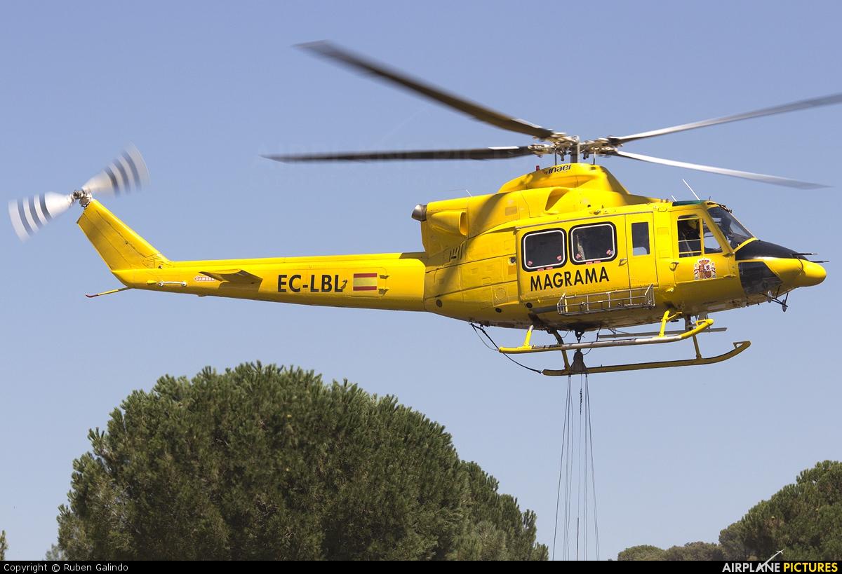 INAER EC-LBL aircraft at Off Airport - Spain