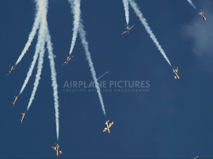 "4 - Italy - Air Force ""Frecce Tricolori"" Aermacchi MB-339-A/PAN"