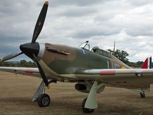 G-CHTK - Private Hawker Hurricane I