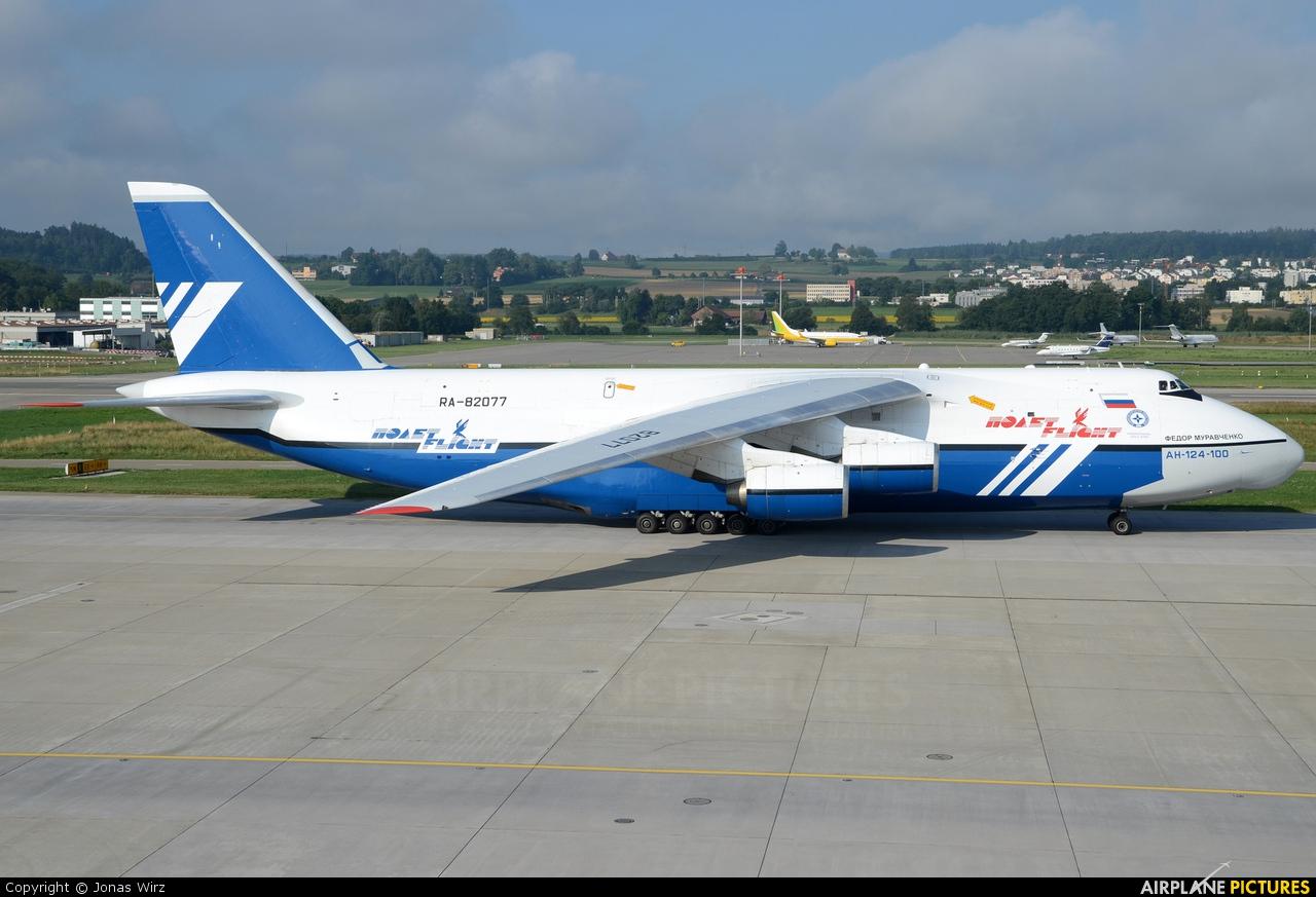 Polet Flight RA-82077 aircraft at Zurich