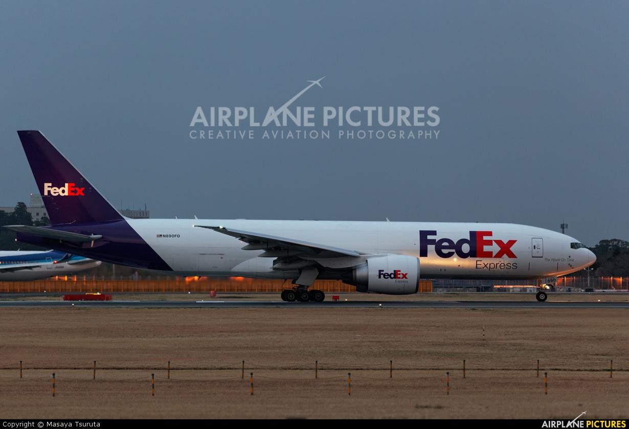 FedEx Federal Express N890FD aircraft at Tokyo - Narita Intl