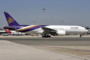 HS-TJV - Thai Airways Boeing 777-200