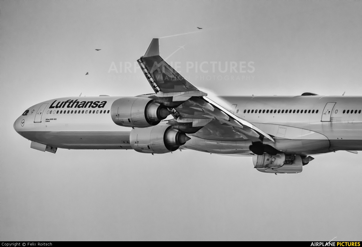 Lufthansa D-AIHF aircraft at Frankfurt