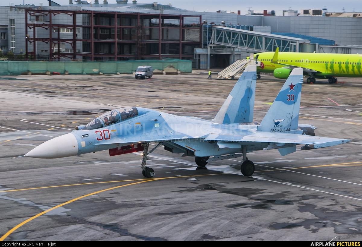 Russia - Air Force 30 aircraft at Novosibirsk