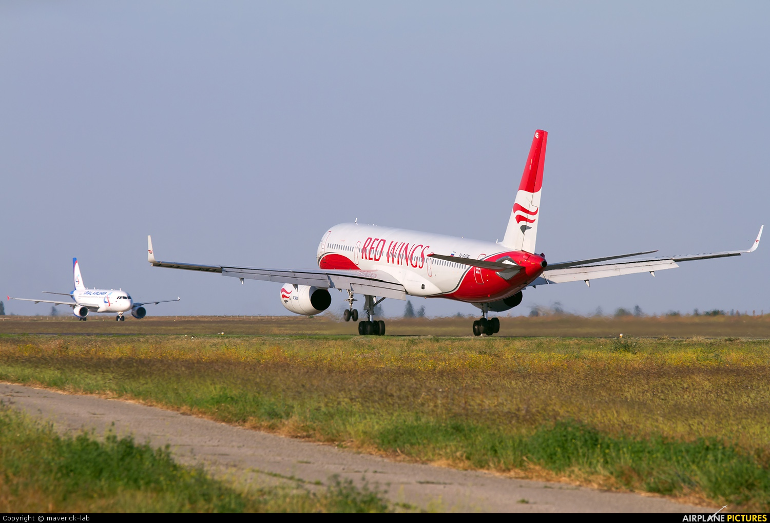 Red Wings RA-64046 aircraft at Simferepol Intl