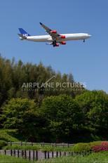 OY-KBA - SAS - Scandinavian Airlines Airbus A340-300