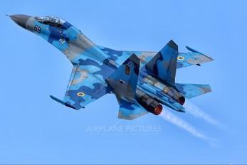 69 - Ukraine - Air Force Sukhoi Su-27UB