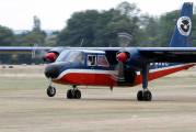 G-AXUB - Private Britten-Norman BN-2 Islander aircraft