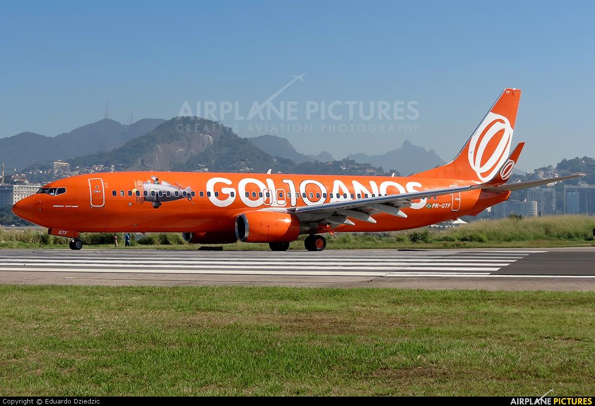 GOL Transportes Aéreos  PR-GTF aircraft at Rio de Janeiro - Santos Dumont