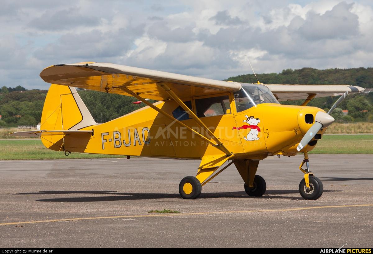 Private F-BJAC aircraft at Le Touquet - Côte d