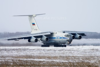 USSR-78823 - Russia - Air Force Ilyushin Il-78